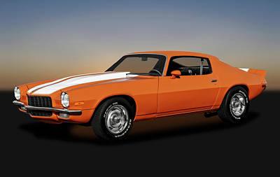 Photograph - 1970 Chevrolet Camaro -  1970chevroletcamaro172141 by Frank J Benz