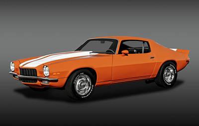 Photograph - 1970 Chevrolet Camaro -  1970chevycamarofa172141 by Frank J Benz