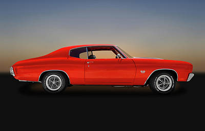 Photograph - 1970 Chevrolet Chevelle Ss 396 -  1970chevelless9668 by Frank J Benz