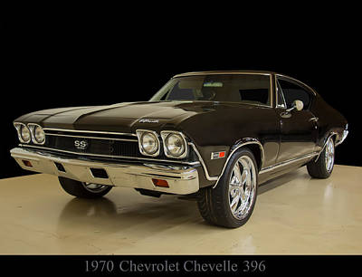 Digital Art - 1970 Chevy Chevelle Ss 396 by Chris Flees