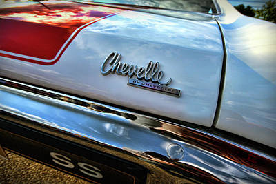 Photograph - 1970 Chevy Chevelle Ss 396 Ss396 by Gordon Dean II