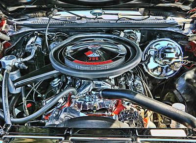 Photograph - 1970 Chevy Chevelle S S by Allen Beatty