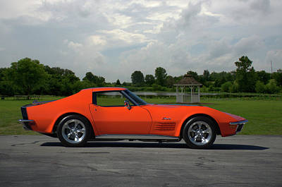 Photograph - 1970 Corvette Stingray by Tim McCullough