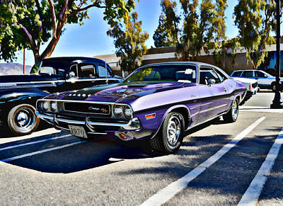 Photograph - 1970 Dodge Challenger by Glenn McCarthy Art and Photography
