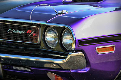 Drag Digital Art - 1970 Dodge Challenger Rt 440 Magnum by Gordon Dean II