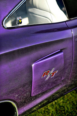 1970 Dodge Coronet Rt - Plum Crazy Purple Art Print by Gordon Dean II