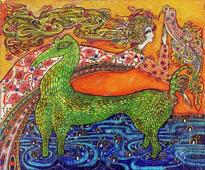 1970 Fantasy Art Print by Toller Cranston
