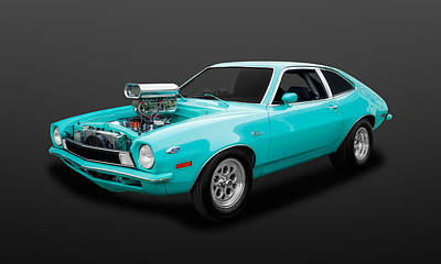 Photograph - 1970 Ford Pinto Coupe   -   70pinto85 by Frank J Benz