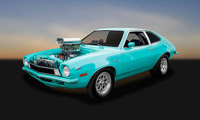 Photograph - 1970 Ford Pinto Coupe  -  70pintocp75 by Frank J Benz