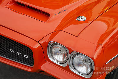 Photograph - 1970 Gto by Dennis Hedberg