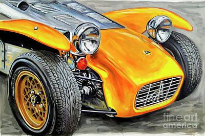 1970 Lotus Super Seven Original