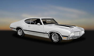 Photograph - 1970 Oldsmobile 442 W30   -   70olds162 by Frank J Benz