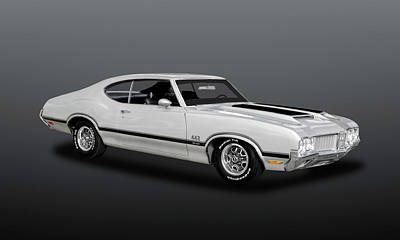 Photograph - 1970 Oldsmobile 442 W30  -  70w30442olds362 by Frank J Benz