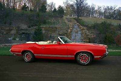 Photograph - 1970 Oldsmobile Cutlass Supreme Convertible by Tim McCullough