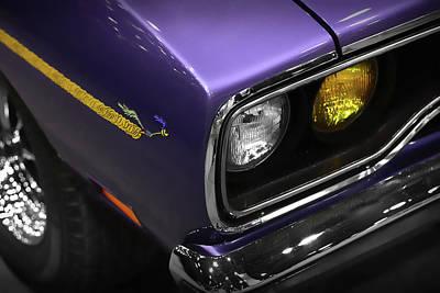 1970 Plum Crazy Purple Road Runner Original by Gordon Dean II