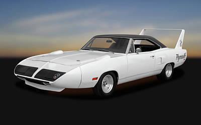 Photograph - 1970 Plymouth Road Runner Superbird  -  1970plyrrsupbrd170242 by Frank J Benz