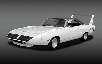 Photograph - 1970 Plymouth Road Runner Superbird  -  1970superbirdfa170242 by Frank J Benz
