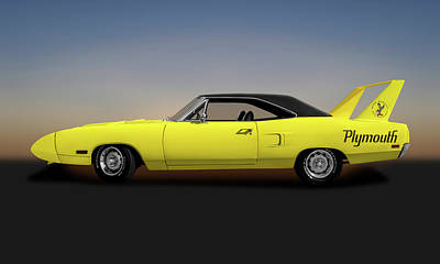 Photograph - 1970 Plymouth Road Runner Superbird 440  -  1970plymouthsuperbirdcoupe173546 by Frank J Benz