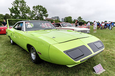 Photograph - 1970 Plymouth Road Runner Superbird by Randy Scherkenbach