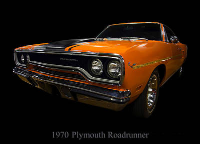 Photograph - 1970 Plymouth Roadrunner by Chris Flees