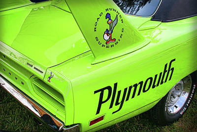 1970 Plymouth Superbird Art Print by Gordon Dean II