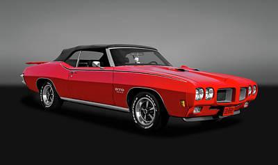 Photograph - 1970 Pontiac Gto 455  -  1970pontiacgtogry6121 by Frank J Benz