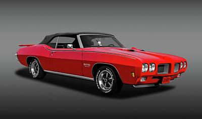 Photograph - 1970 Pontiac Gto 455 Convertible  -  1970pontiacgtofa6121 by Frank J Benz
