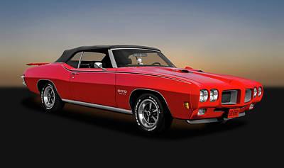 Photograph - 1970 Pontiac Gto Convertible 455  -  1970pontiacgto6121 by Frank J Benz