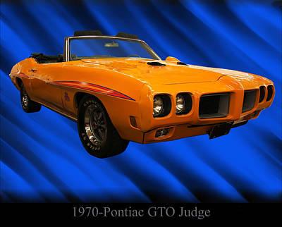 Photograph - 1970 Pontiac Gto Judge by Chris Flees