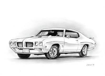 1970 Pontiac Gto Judge Original