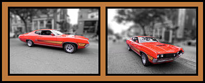 Photograph - 1970 Torino Gt Horizontal by Leslie Montgomery