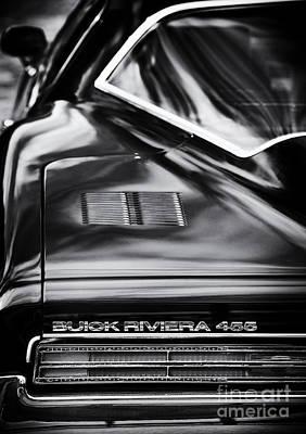 1971 Buick Riviera 455 Art Print by Tim Gainey