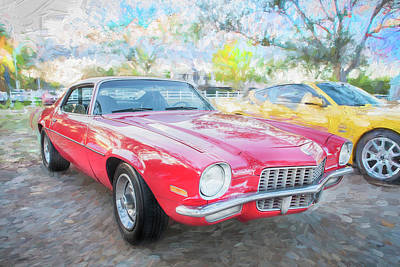 Photograph - 1971 Chevrolet Camaro C126 by Rich Franco