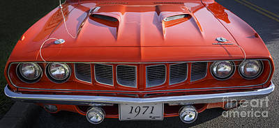 Photograph - 1971 Cuda by Dennis Hedberg