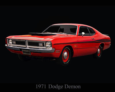 Photograph - 1971 Dodge Demon by Chris Flees