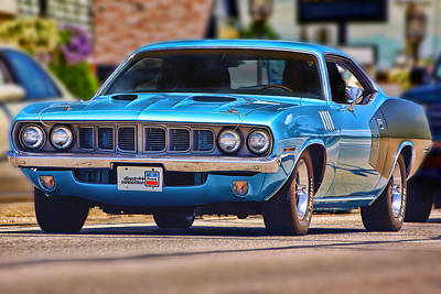 1971 Plymouth 'cuda 383 Original by Gordon Dean II