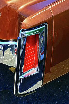 Photograph - 1972 Cadillac Eldorado Tail Light by Allen Beatty