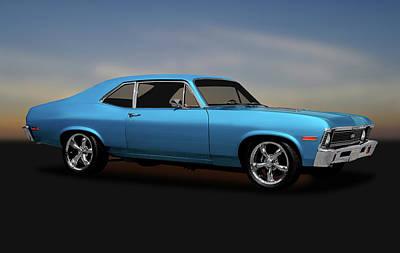 Photograph - 1972 Chevrolet Nova Super Sport  -  1972chevynovasupersport170749 by Frank J Benz