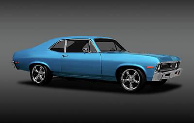 Photograph - 1972 Chevrolet Nova Super Sport  -  1972chevyssnovafa170749 by Frank J Benz