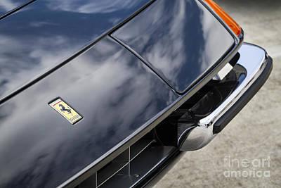 Photograph - 1972 Ferrari 365 by Dennis Hedberg