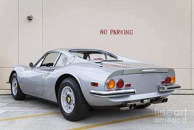 Photograph - 1972 Ferrari Dino 246 Gt by Dennis Hedberg