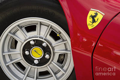Sports Royalty-Free and Rights-Managed Images - 1972 Ferrari Dino by Dennis Hedberg