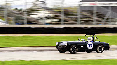 Photograph - 1972 Mg Midget by Randy Scherkenbach