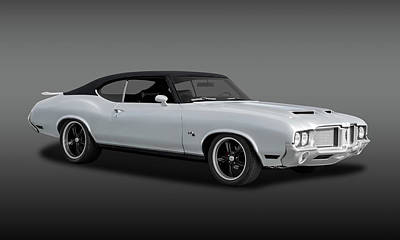 Photograph - 1972 Oldsmobile Cutlass  -  1972oldscutfa0037 by Frank J Benz