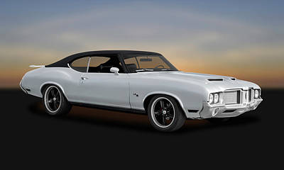Photograph - 1972 Oldsmobile Cutlass  -  1972oldscutlass0037 by Frank J Benz