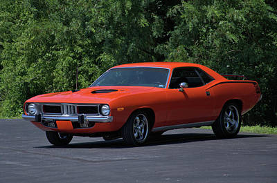 Photograph - 1972 Plymouth Barracuda by TeeMack