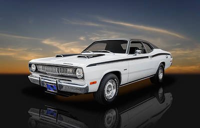 Photograph - 1972 Plymouth Duster 340 - 2 by Frank J Benz