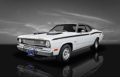 Photograph - 1972 Plymouth Duster 340 - 3 by Frank J Benz