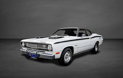 Photograph - 1972 Plymouth Duster 340 - 4 by Frank J Benz