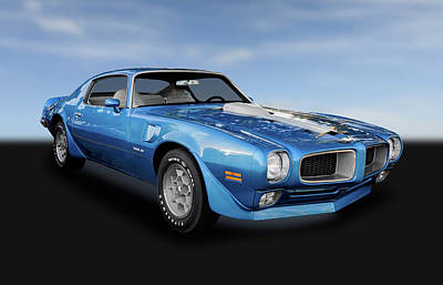 Photograph - 1972 Pontiac Firebird Trans Am 455  -  1972pontbird005 by Frank J Benz